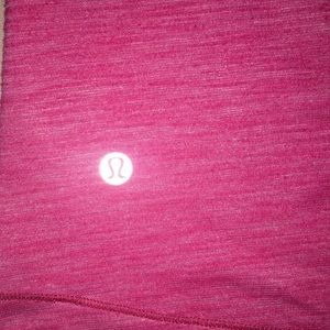 lululemon athletica Tops - Lululemon Size 2 Open Side Pink Tank